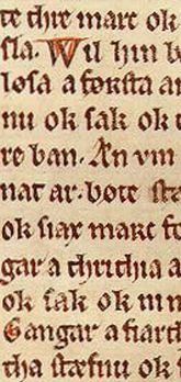Older Gothic Textualis