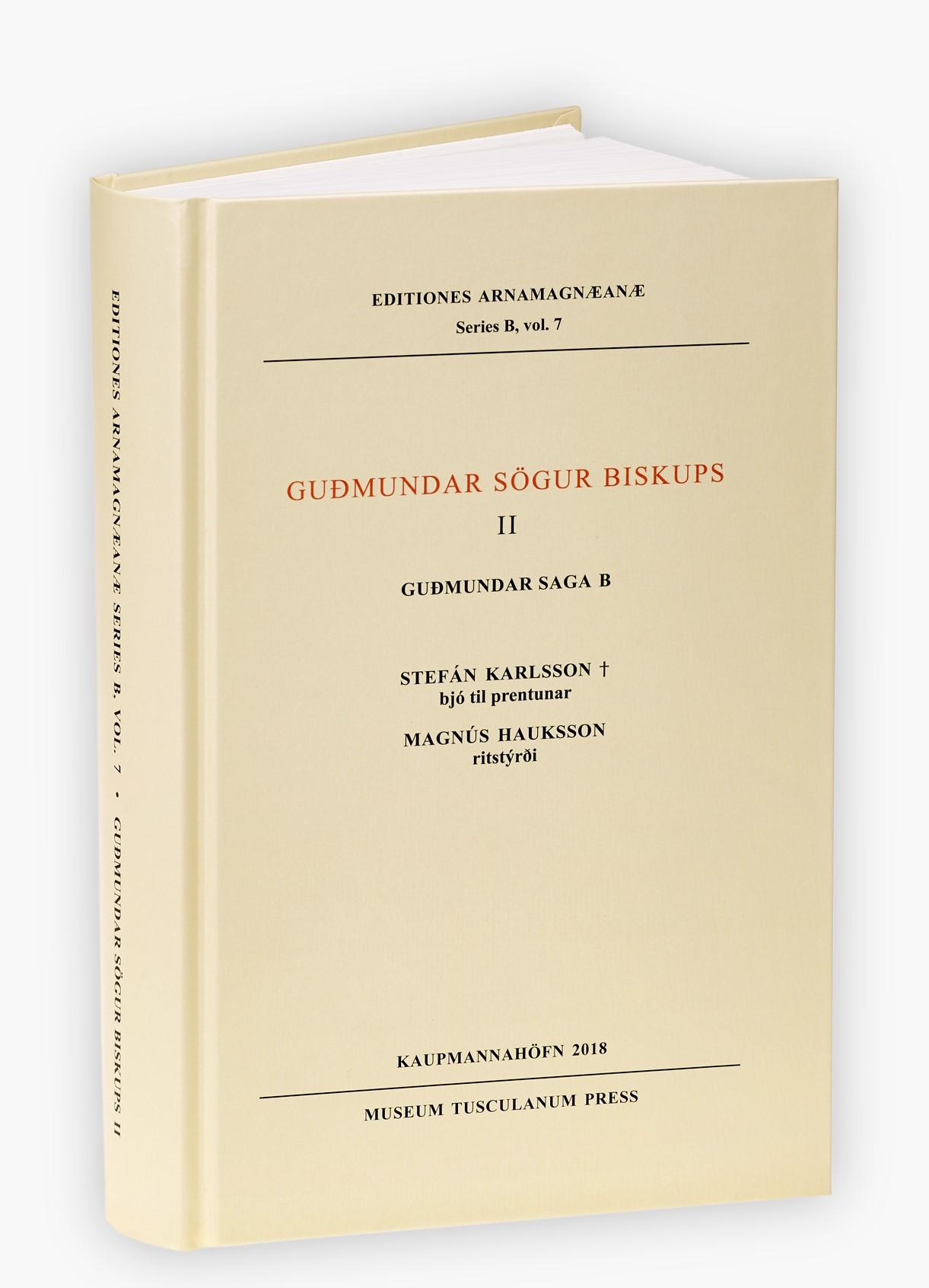 Læs mere om: Guðmundar saga B er udkommet